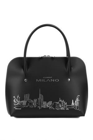 Bag ALMINI MILANO. Цвет: black and silver