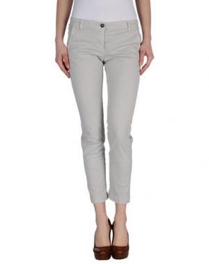 Повседневные брюки GOLD CASE SOGNO. Цвет: серый