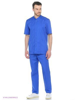 Брюки медицинские Med Fashion Lab. Цвет: синий