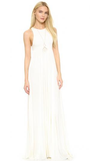 Макси-платье Anya Rachel Pally. Цвет: белый