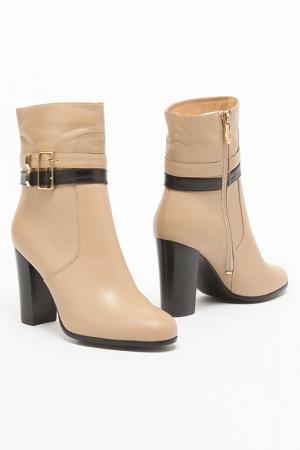 Ботинки Carlabei. Цвет: бежевый