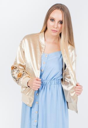 Куртка Marissimo. Цвет: золотой