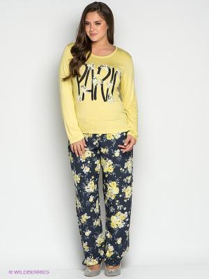 Комплект одежды CATHERINE'S. Цвет: желтый, белый, темно-синий, серый