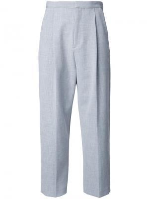 Укороченные брюки Enföld. Цвет: серый