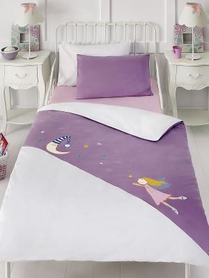 Комплект постельного белья Ночная Фея TOGAS. Цвет: лиловый
