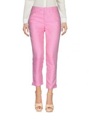 Повседневные брюки NONYME. Цвет: розовый