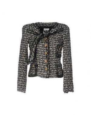 Куртка EDWARD ACHOUR. Цвет: черный