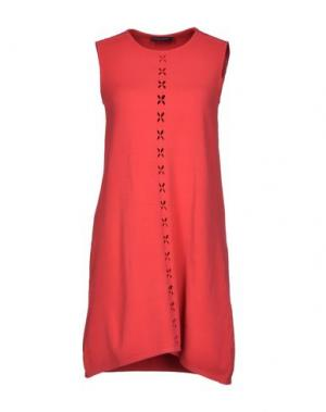 Короткое платье ANDREATURCHI. Цвет: пурпурный
