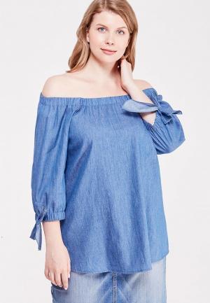Блуза Svesta. Цвет: синий