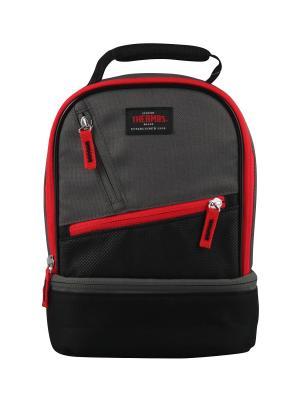 Сумка- термос тм THERMOS Berkley Dual Lunch Kit Red. Цвет: красный