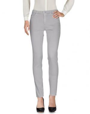 Повседневные брюки AG ADRIANO GOLDSCHMIED. Цвет: светло-серый