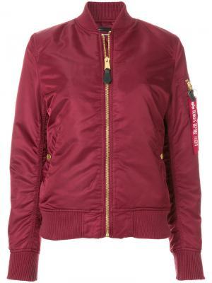 Куртка L2-B Scout Alpha Industries. Цвет: красный