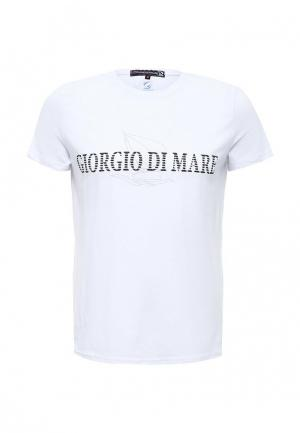 Футболка Giorgio Di Mare. Цвет: белый