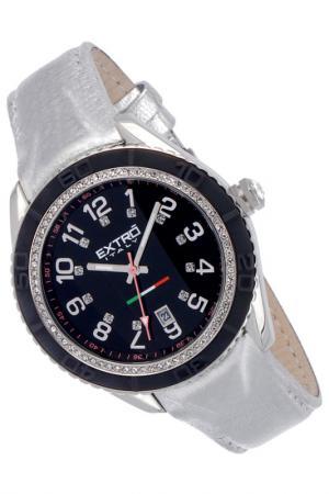 Наручные часы Extro. Цвет: silver and black