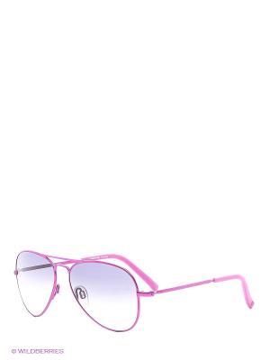 Солнцезащитные очки Rodenstock. Цвет: розовый