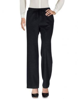 Повседневные брюки MUUBAA. Цвет: стальной серый