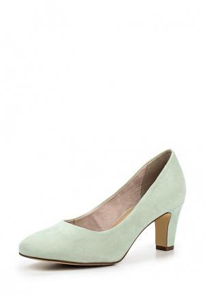 Туфли Tamaris. Цвет: зеленый