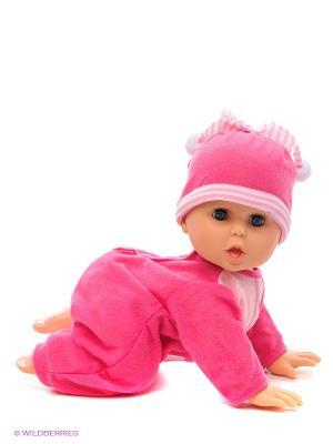 Кукла Piccolina интерактивная Bambolina. Цвет: малиновый