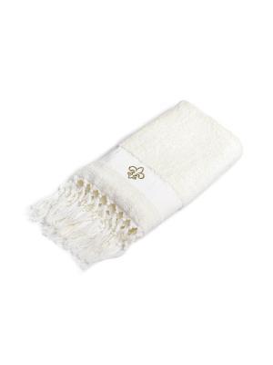 Полотенце для ванной 70х140 см Aufollien Provence WESS. Цвет: бежевый