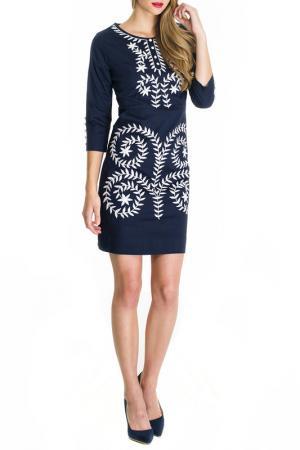 Платье Almatrichi. Цвет: blue and white