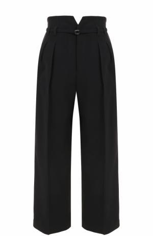 Укороченные брюки со стрелками и завышенной талией REDVALENTINO. Цвет: черный