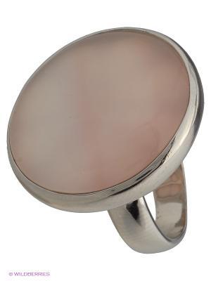 Кольцо BALEX. Цвет: бежевый, серебристый