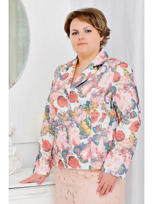 Жакет SERGIO VALENSA. Цвет: розовый