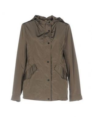 Легкое пальто MABRUN. Цвет: серый