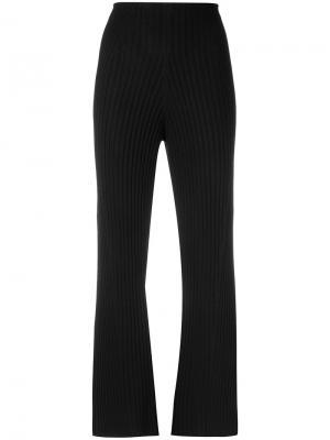 Knitted trousers Osklen. Цвет: чёрный