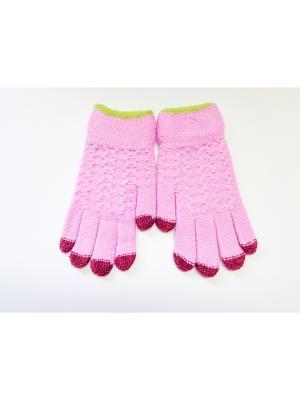 Перчатки Cascatto. Цвет: сиреневый