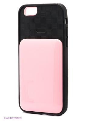 Чехол для iphone 6 WB. Цвет: бледно-розовый, черный