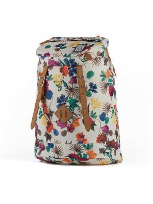 Рюкзак THE PACK SOCIETY Premium Backpack FW16. Цвет: светло-бежевый, белый