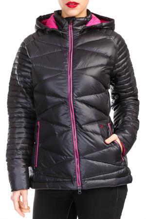 Куртка YETI. Цвет: черный