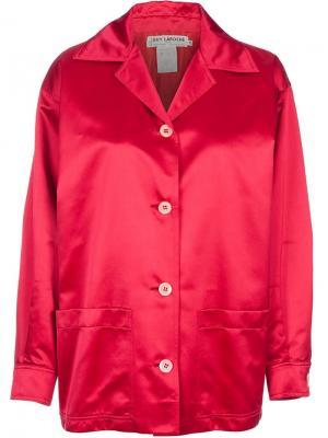 Куртка в стиле 80тых годов Guy Laroche Vintage. Цвет: красный