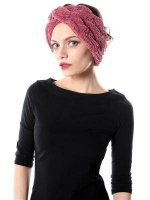 Повязка на голову Косы SEANNA. Цвет: розовый