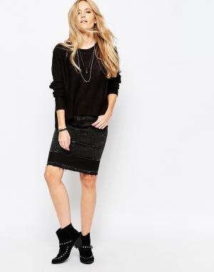 Cheap Monday Джинсовая юбка Opposite. Цвет: черный
