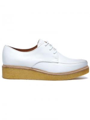 Туфли дерби Nina 5 Swear. Цвет: белый
