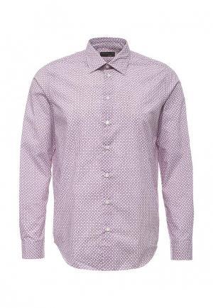 Рубашка Piazza Italia. Цвет: розовый