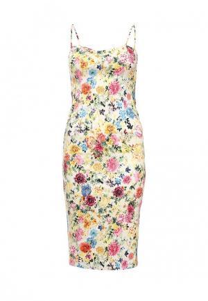 Платье QED London. Цвет: желтый