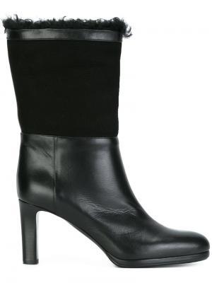 Ботинки на каблуке Veronique Branquinho. Цвет: чёрный