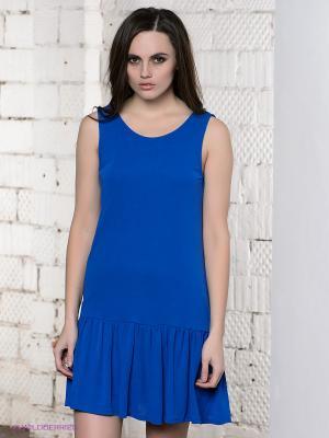Платье PEPE JEANS LONDON. Цвет: синий