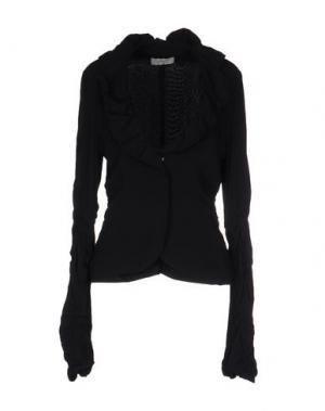 Пиджак SCRUPOLI. Цвет: черный