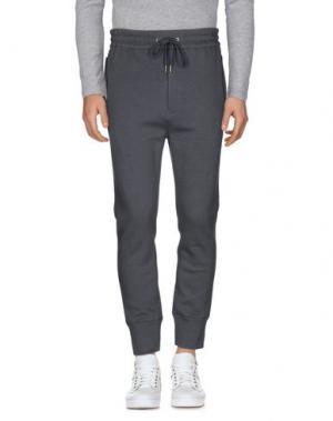 Повседневные брюки HELMUT LANG. Цвет: серый