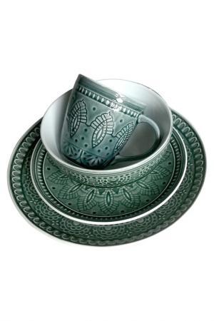 Набор посуды 4 предмета TONGO. Цвет: серый