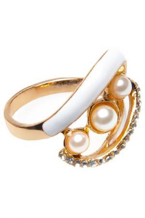 Ring BELLA ROSA. Цвет: white, gold