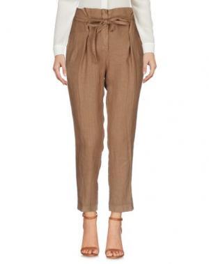 Повседневные брюки GIORGIA & JOHNS. Цвет: верблюжий