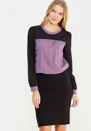 Платье Vivostyle. Цвет: черный
