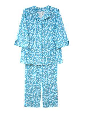 Пижама Тефия. Цвет: голубой, белый