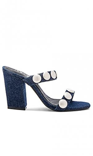 Туфли на каблуке sheri Sol Sana. Цвет: синий