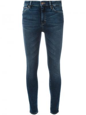 Джинсы Bridge Mih Jeans. Цвет: синий